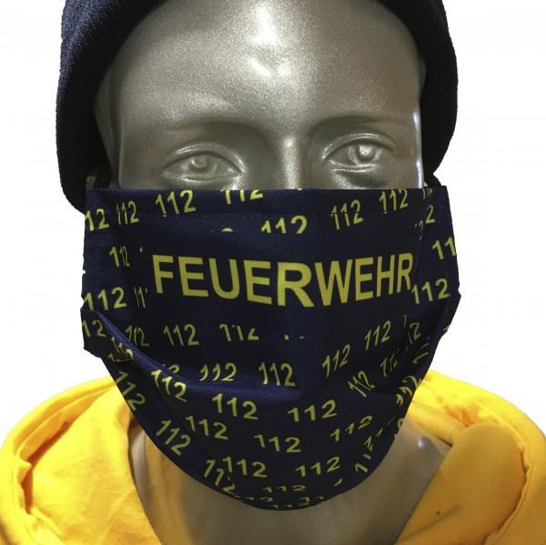 """Behelfsmaske """"FEUERWEHR 112"""""""
