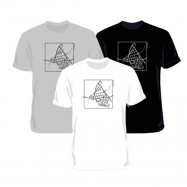 "T-Shirt ""Eschhöfer Karte"" Unisex"