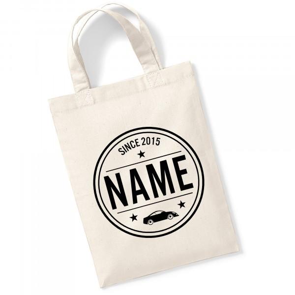 kleine Baumwoll-Tasche für Kinder, personalisiert
