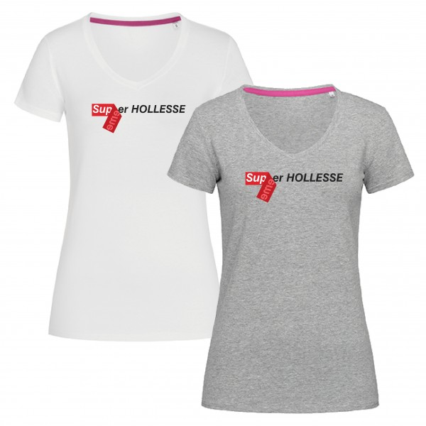 "T-Shirt ""Super-Hollesse"" für Damen"