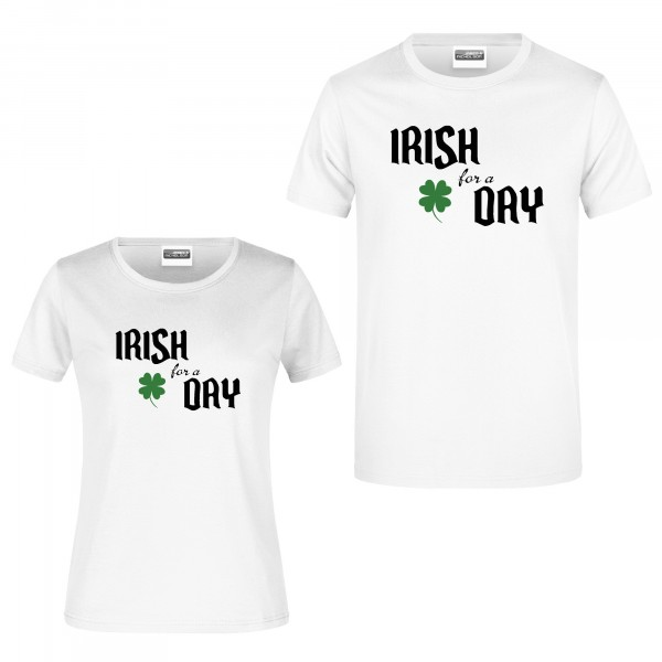 "T-Shirt ""Irish for a day"""