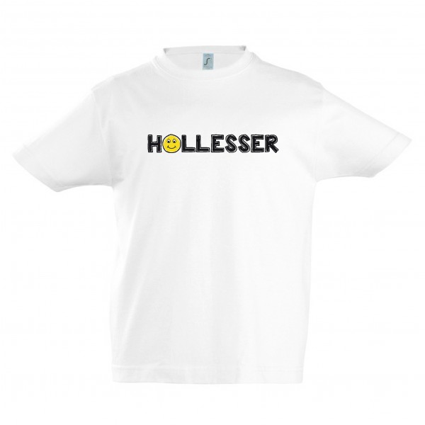 "T-Shirt Kinder ""Hollesser"" Smiley"