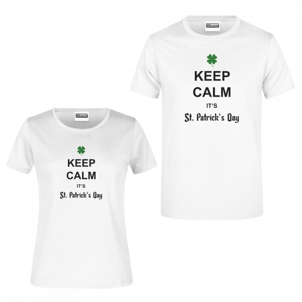 "T-Shirt ""Keep calm it's St. Patrick's Day"""
