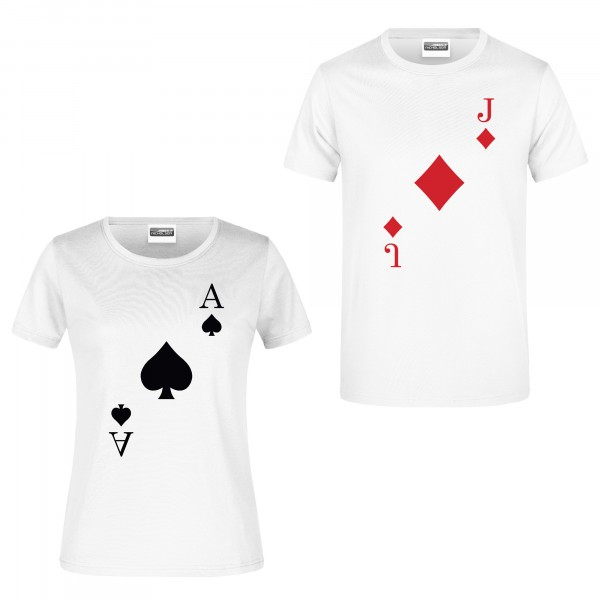 "T-Shirt ""Spielkarten"""
