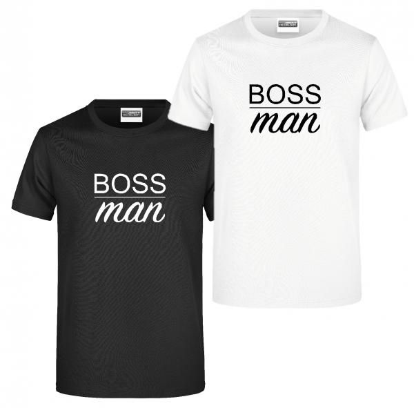 """T-Shirt """"BOSS man"""""""