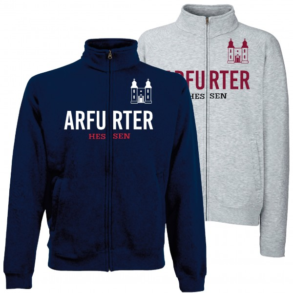 """Sweat Jacke """"Arfurter"""" Unisex für Erwachsene"""