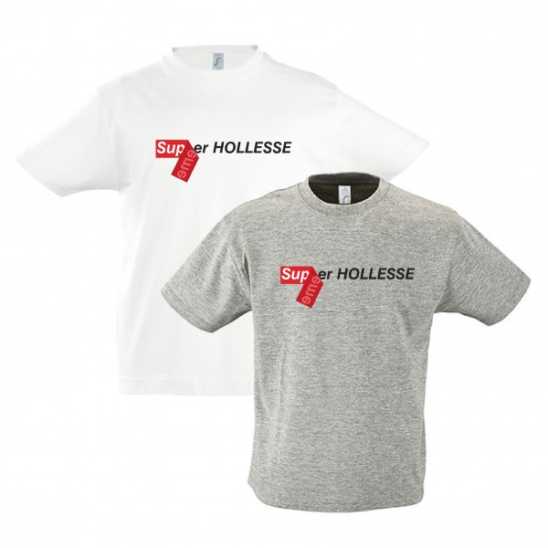 "T-Shirt ""Super-Hollesse"" für Kinder"