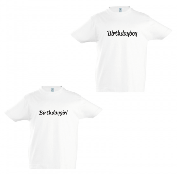 T-Shirt Birthdayboy / Birthdaygirl